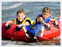 Детска надуваема лодка
